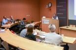 Professor Joy Bilharz of SUNY Fredonia presents her paper