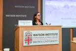 Heather Randell, Postdoctoral Fellow at the University of Maryland, Annapolis' National Socio-Environmental Synthesis Center, presents her paper